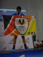 Jovens atletas da APPACDM de Viana do Castelo conseguem lugares no pódio no Campeonato Nacional e Open de Remo Indoor 2017 em Gondomar