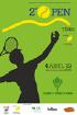 """2º Open de Ténis do projeto: """"Ténis uma oportunidade de interação"""